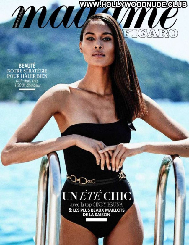 Cindy Bruna Madame Figaro  Magazine Paparazzi Posing Hot Beautiful