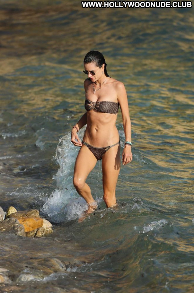 Bikini The Beach  Bikini Celebrity Posing Hot Beautiful Babe Beach