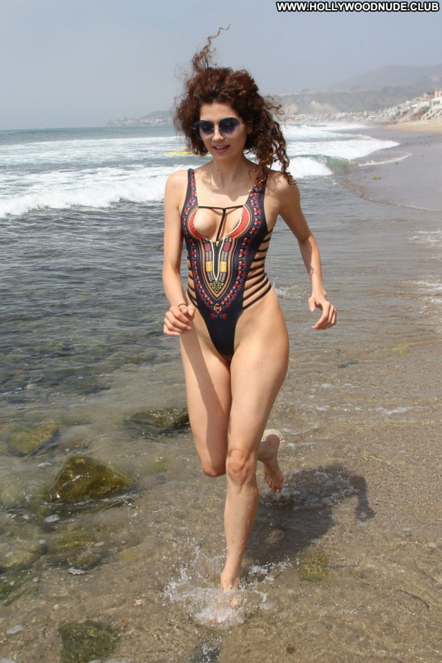 Denisa Strakova The Girl Babe Legs Celebrity Sex Nip Slip Swimsuit