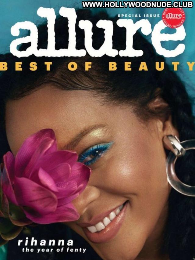 Rihanna Allure Magazine Magazine Paparazzi Posing Hot Celebrity Babe