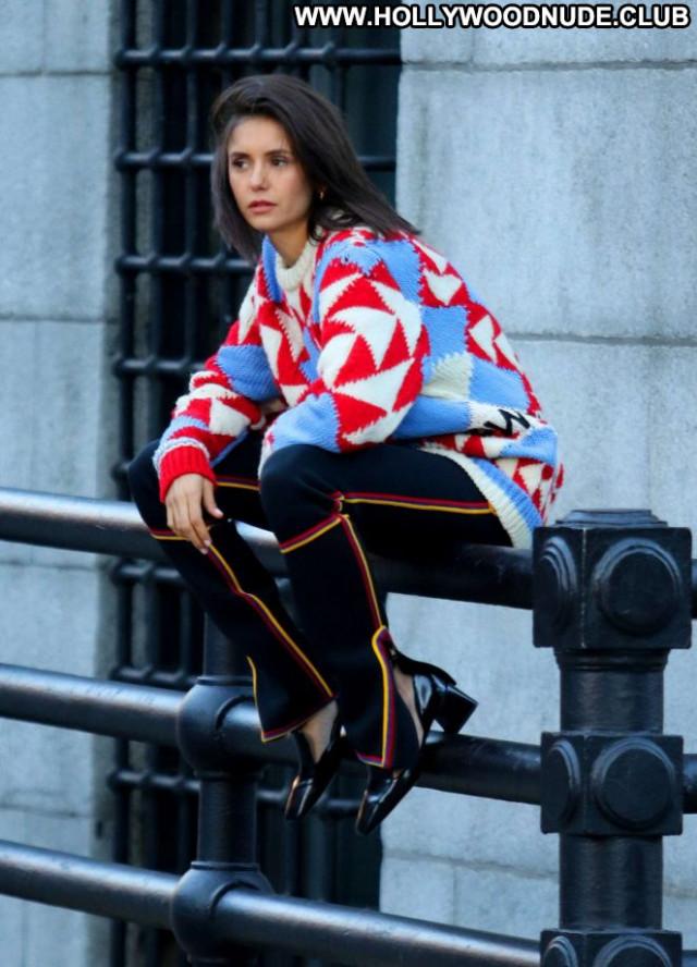 Nina Drobev New York Paparazzi Beautiful Photoshoot New York