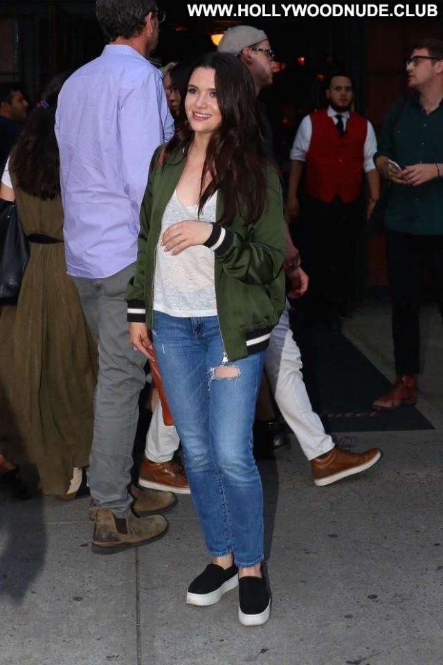Katie Stevens New York Posing Hot Paparazzi Celebrity Hotel Beautiful