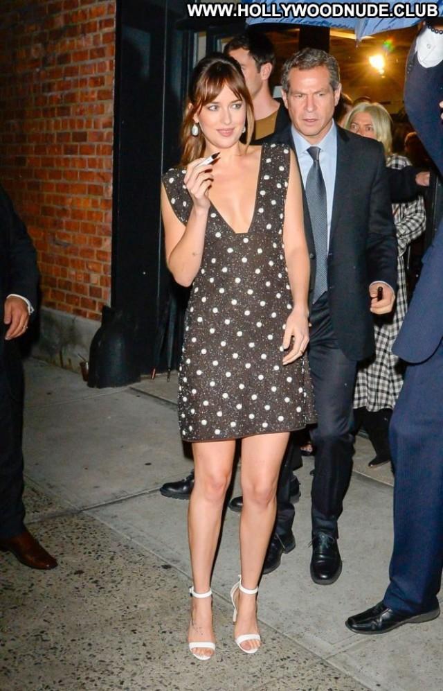 Dakota Johnso New York New York Celebrity Beautiful Babe Paparazzi
