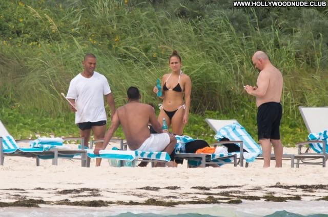 Jennifer Lopez The Beach Swimsuit Boyfriend Singer Bahamas Birthday