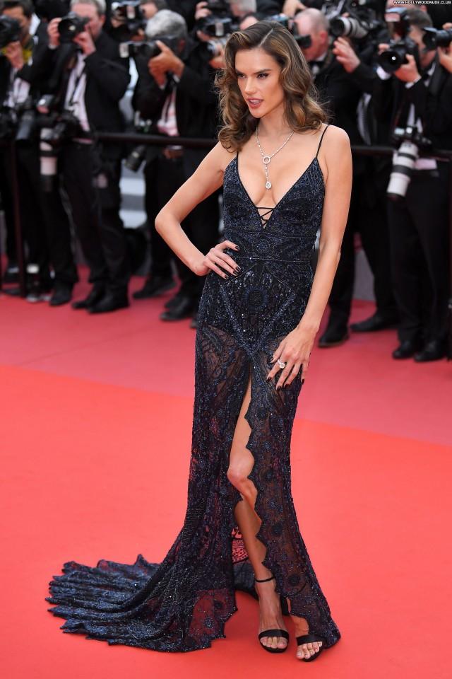Alessandra Ambrosio Cannes Film Festival Posing Hot Sexy Sex Actress