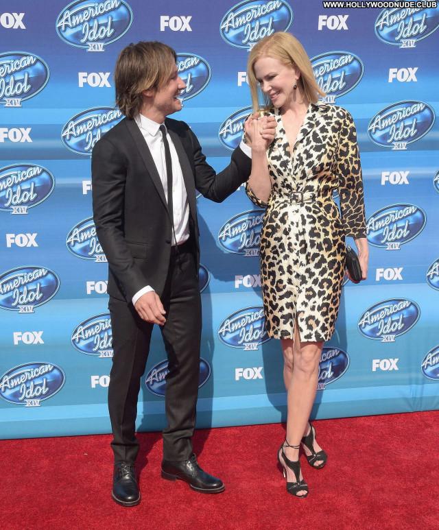 Nicole Kidman American Idol Paparazzi Posing Hot Sea Beautiful