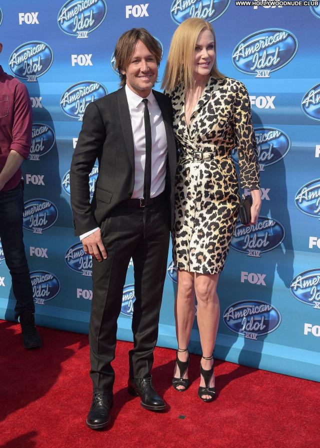 Nicole Kidman American Idol Babe Sea Paparazzi Posing Hot Celebrity