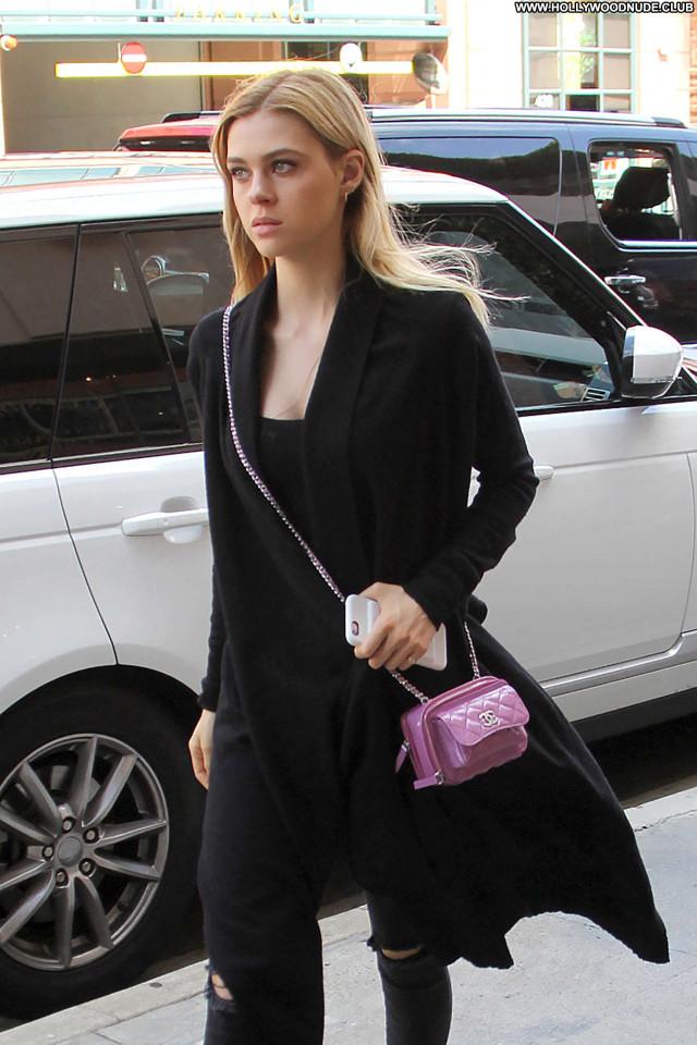 Nicola Peltz Beverly Hills Posing Hot Black Beautiful Babe Paparazzi