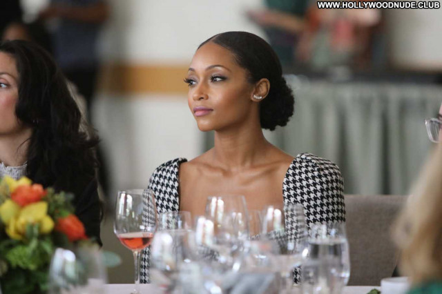 Yaya Dacosta No Source Beautiful Babe Posing Hot Paparazzi Celebrity