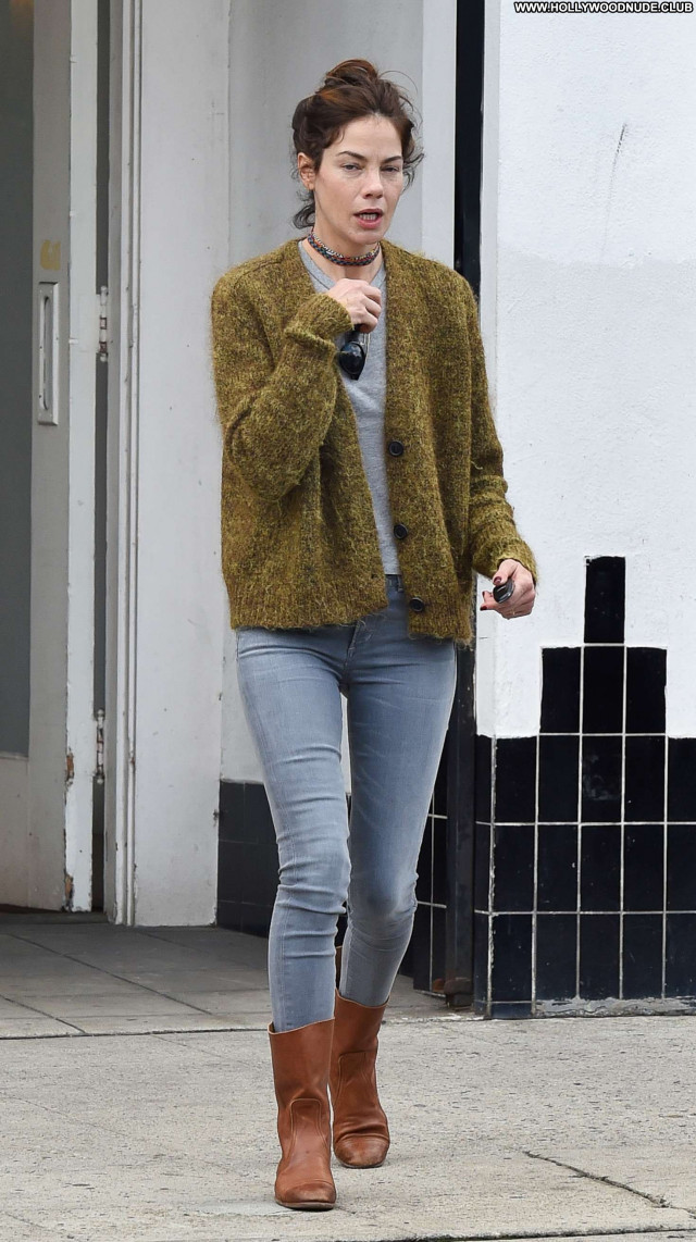 Michelle Monaghan Los Angeles  Posing Hot Beautiful Jeans Celebrity