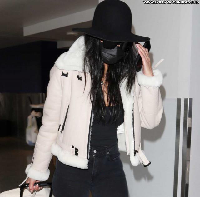Nicole Scherzinger Lax Airport Posing Hot Celebrity Paparazzi