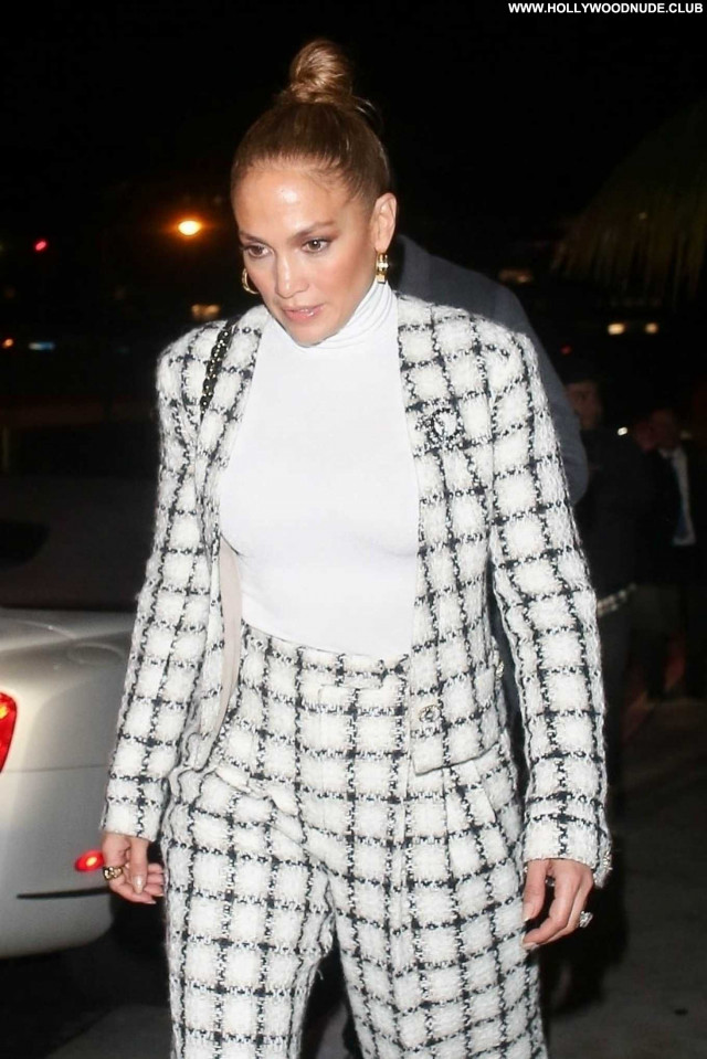 Jennifer Lopez West Hollywood Celebrity Beautiful Paparazzi Babe