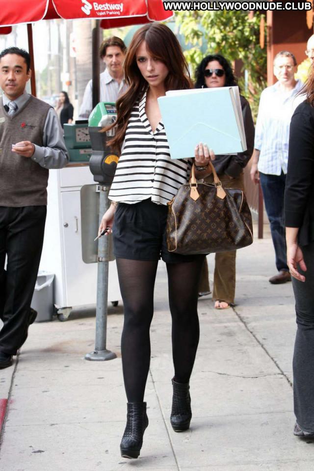 Jennifer Love Hewitt Beverly Hills Restaurant Candid Beautiful Posing
