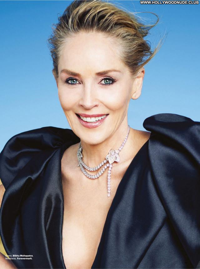 Sharon Stone No Source Sexy Beautiful Babe Celebrity Posing Hot