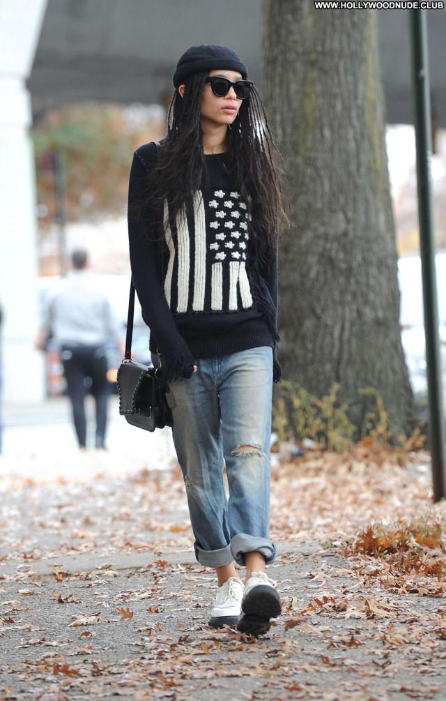 Zoe Kravitz No Source Babe Paparazzi Celebrity Beautiful Posing Hot