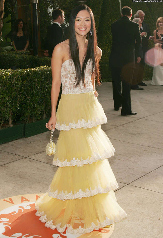 Zhang Ziyi No Source Asian Beautiful Posing Hot Babe Celebrity