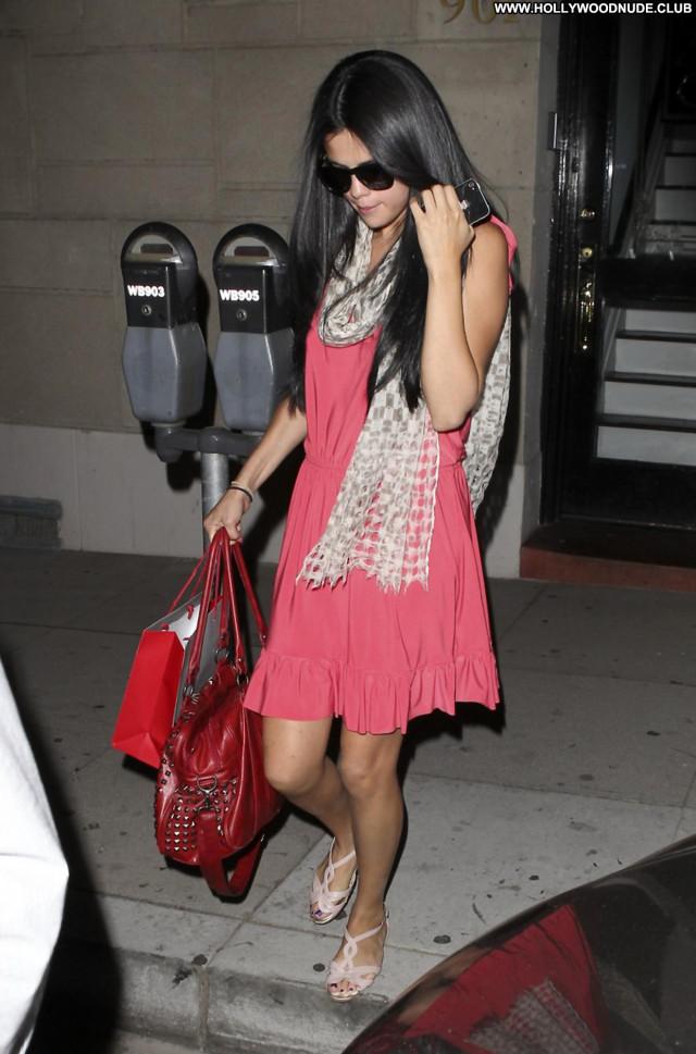 Selena Gomez West Hollywood Posing Hot Paparazzi Babe Celebrity West