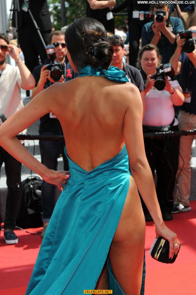 Abigail Lopez Cannes Film Festival Babe Celebrity Posing Hot Upskirt