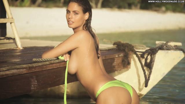 Bojana Krsmanovic No Source  Posing Hot Babe Celebrity Swimsuit