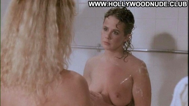 Linda Blair Sybil Danning  Topless Movie Celebrity Chained Posing Hot